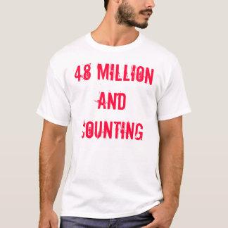 T-shirt 48 millions/holocauste actuel