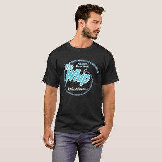 T-shirt 4 bleus et blancs de fouet chemises foncées du