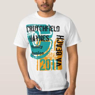 T-shirt 4-Crutchfield-Haynes- 2011 - La Réunion de famille