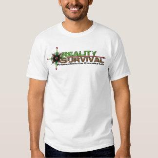 T-shirt #4 de survie de réalité