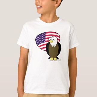 T-shirt 4 juillet Américain Eagle