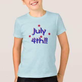 T-shirt - 4 juillet (enfants)