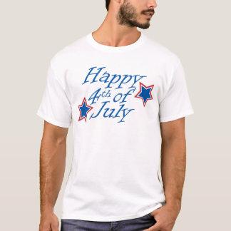 T-shirt 4 juillet - lumière heureuse