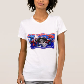 T-shirt 4 juillet - Shih Tzu - Sadie