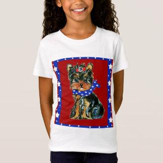 T-Shirt 4 juillet Yorkie Poo