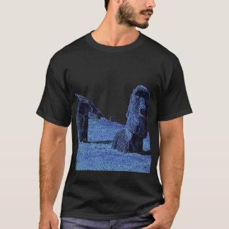 T-shirt 4 Moai, île de Pâques T