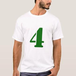 T-shirt 4 rappelés jamais