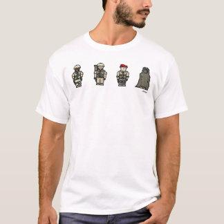 T-shirt 4 soldats de Tiger Company
