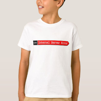T-shirt 500 - Erreur de serveur interne