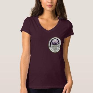 T-shirt 500 scientifiques St Louis de femmes