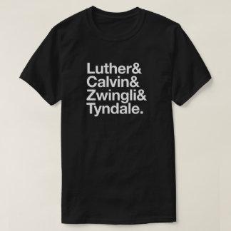 T-shirt 500th Chemise de Luther Calvin de réforme