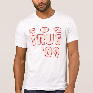 T-shirt 502TRUE DOB de la coutume T limité