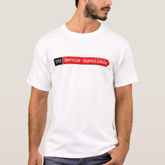 T-shirt 503 - Entretenez indisponible