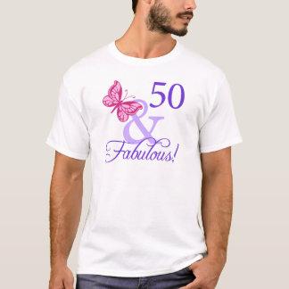 T-shirt 50 et anniversaire fabuleux