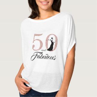 T-shirt 50 et cadeau d'anniversaire fabuleux