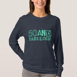T-shirt 50 et fabuleux ! Style vintage de la chemise |
