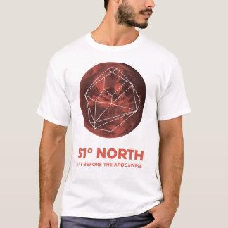 T-shirt 51 degrés de chemise du nord - la vie avant