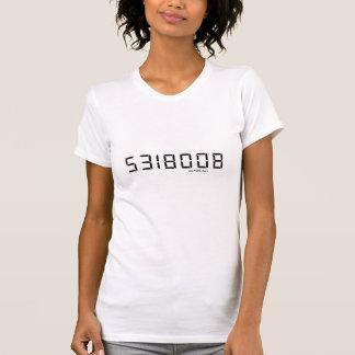 T-shirt 5318008 - L'ajustement maigre léger des femmes