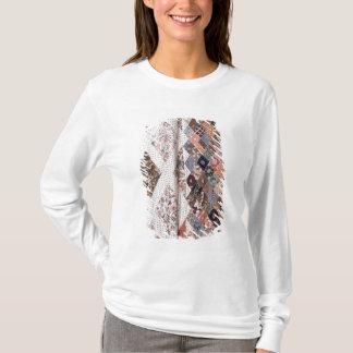 T-shirt 53 : Détail d'un édredon de patchwork fait par Mme
