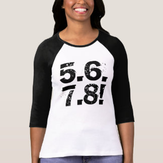 T-shirt 5678 ! chemise de danse