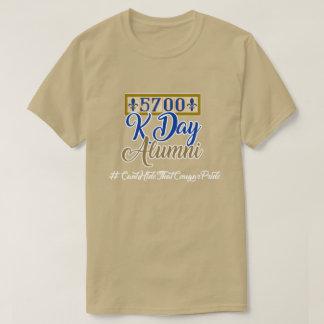 T-shirt 5700 anciennes élèves de Kennedy - caillou