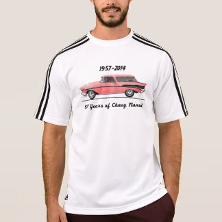 T-shirt 57 ans de nomade de Chevy