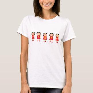 T-shirt 5 bande dessinée Anns