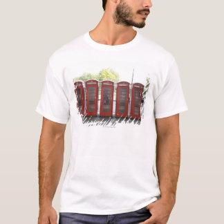 T-shirt 5 cabines téléphoniques à Londres