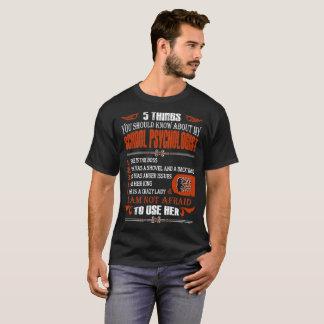 T-shirt 5 choses que vous devriez connaître le psychologue