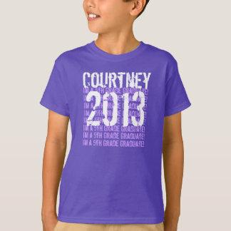 T-shirt 5ème diplômé de la catégorie 2013 ou TOUTE ANNÉE