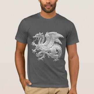 T-shirt [600] Dragon islandais, Landvættir [argent]