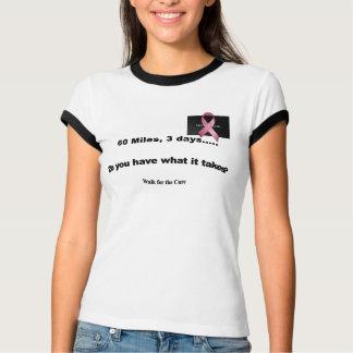 T-shirt 60 milles plus de 3 jours - customisés