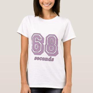 T-shirt 68 secondes dentellent la pièce en t