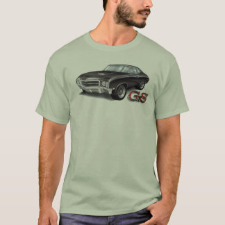 T-shirt 69 GS de Buick dans le noir
