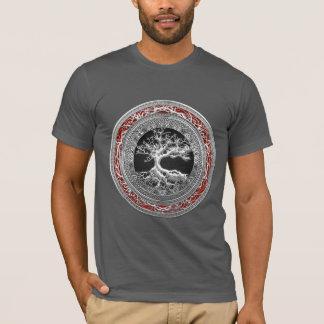 T-shirt [700] Trésor : Arbre de la vie celtique [argent]