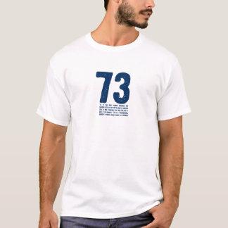 T-shirt 73 est le meilleur nombre