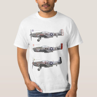 T-Shirt 78th Fighter Group P-51 Mustang