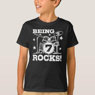 T-shirt 7 ans
