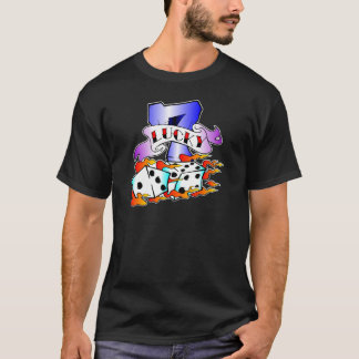 T-shirt 7 chanceux et tatouage de matrices
