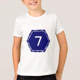 T-shirt #7 marine Tek