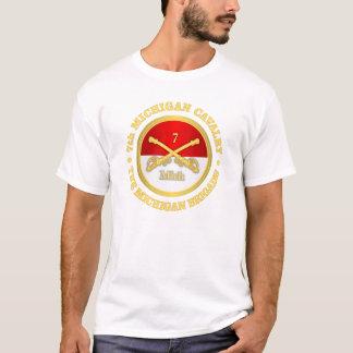T-shirt 7ème Cavalerie du Michigan (rd)