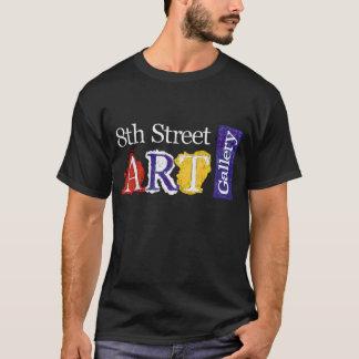 T-shirt 8ème Logo de galerie d'art de rue
