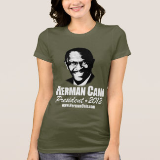 T-shirt 999 Herman Caïn 2012