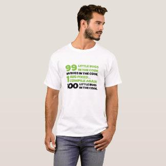 T-shirt 99 insectes dans le code…