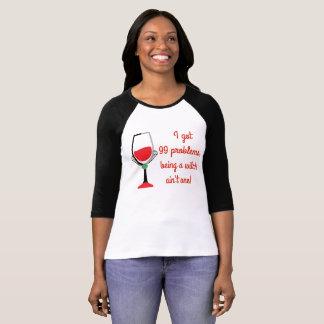 T-shirt 99 problèmes mais une sorcière - mauvaises filles