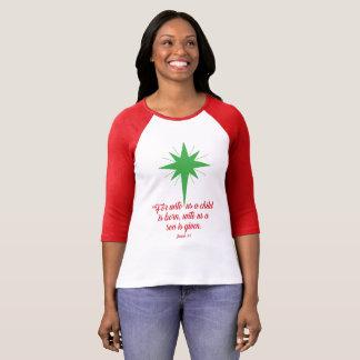T-shirt 9:6 d'Isaïe