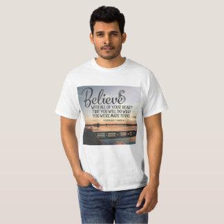 T-shirt À ce que vous avez été faits