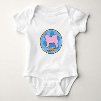 T-shirt à la mode de Malamute d'Alaska