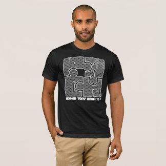 T-shirt à la mode de puzzle de PAGA KTM