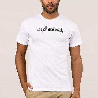 T-shirt à l'enfer et au dos